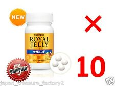 LOT 10 Suntory Royal Jelly Sesamin E for 10 months anti aging amino acid Japan