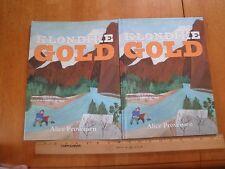 Klondike Gold HBDJ book SIGNED Alice Provensen hardcover