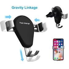 10W Qi Wireless Car Fast Charger Air Vent Mount Holder for Samsung S8 iPhone 8 X