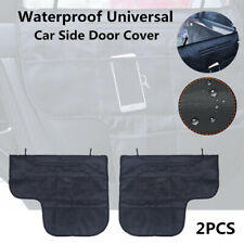 Waterproof Car SUV Side Door Cover Pet Dog Antiscratch Pad Protector Guard Black
