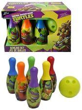 New Teenage Mutant Ninja Turtles Bowling Set Birthday Gift Toy for Kids
