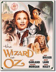Wizard of Oz poster metal sign 410mm x 320mm (de)