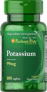 Potassium Gluconate 99 MG 100 Vegetarian Caplets