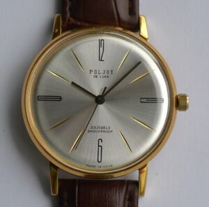 Poljot De Luxe  SLIM Mechanical Wristwatches, Serviced