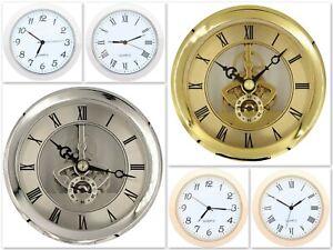 Quarz-uhrwerk Einbau-Uhr Einsteckuhrwerk Einbauuhr Einsteckwerk Metall Plastik