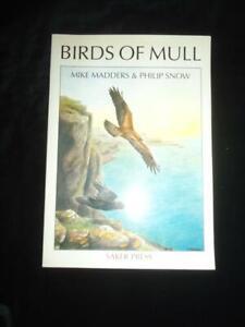 Birds of Mull ornithology guide Mike Madders & Philip Snow Saker Press Scotland