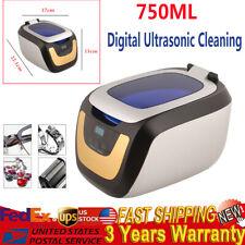 50w 750ml Dental Digital Ultrasonic Cleaner Washing Machine For Jewelry Cleaning