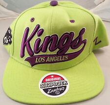 Origine zephyr snapbacks authentique ajustée chapeaux casquette de baseball los angeles kings
