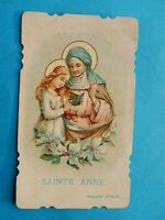 IMAGE PIEUSE HOLY CARD SAINTE ANNE ANNA  THFR