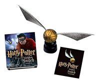 Harry Potter Golden Snitch boccino d'oro ufficiale OFFERTA 10cm con piedistallo