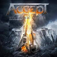 ACCEPT - SYMPHONIC TERROR-LIVE AT WACKEN 2017 TD  2CD-DIGIPAK+DVD 2 CD+DVD NEU