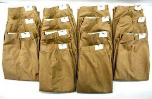 Lot of 14 Flying Cross Fechheimer Womens 22 MR Non-Slip Waist Slacks Pants Khaki