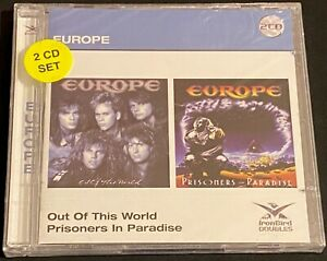 Europe - Out of This World/Prisoners in Paradise (New Sealed 2 CD Remastered)