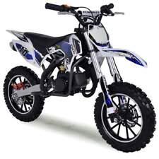50cc Dirt Bike Kids Mini Funbikes Blue MXR 61cm Motorbike Petrol