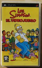 The Simpson The Videojueo - sony Psp - Version Spain - Full