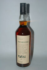 WHISKY BENRINNES  FLORA & FAUNA SINGLE HIGHLAND MALT 15 YEARS OLD 70cl.
