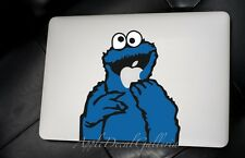 Sesame Street Cookie Monster Decal Sticker Skin for Macbook Pro Air 13 15 17 SS