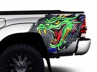 Custom Vinyl Rear Decal DRAGON Wrap Kit Fits: Toyota Tacoma 05-15 Truck Parts