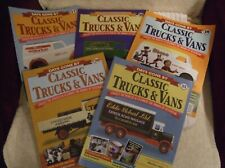 DAYS GONE BY ** CLASSIC TRUCKS & VANS MAGAZINES ** NUMBERS 17 to 21 - VGC