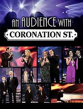 AN AUDIENCE WITH CORONATION STREET(NEW DVD)CILLA BATTERSBY-BROWN,CRAIG HARRIS