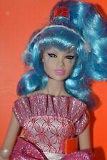 Integrity Hasbro Jem and holograms Glitter'n Gold Aja Kimber doll NRFB + Shipper