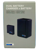 GoPro Dual Battery Charger with Battery for HERO5, HERO6, HERO7 Black AADBD-001