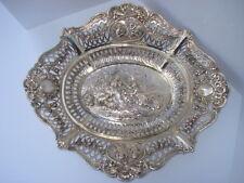 "19th Century German Silver "" Cabinet Silver "" Basket"