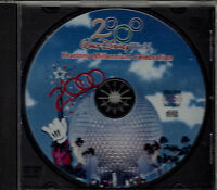 "WALT DISNEY WORLD...""YEARLONG MILLENNIUM CELEBRATION""...""2000""......SOUVENIR CD"