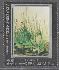 KOREA Pn. 1979 used SC#1812 25ch stamp, Paintings A. Durer 450th Anniv. Death