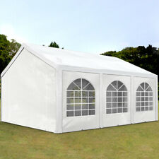 Great Marquee Partytent 4x6 m Party / Event / Wedding Tent 6x4 240g/m² PE white
