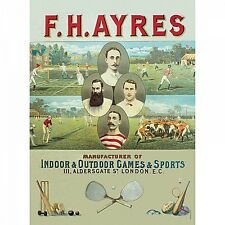F H Ayres Sports large metal sign 400mm x 300mm (hb)