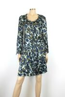 Tara Jarmon Silk Blend Floral Dress UK 8/10