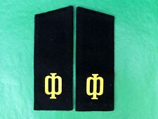 Genuine Soviet Russia USSR Marine Force Sailor Uniform Epaulettes.