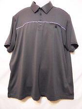Adidas ClimaLite Mens Polo Style Shirt Xl Black/White Lightweight Short Sleeve