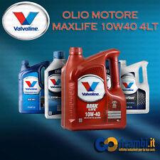 4 LT OLIO MOTORE VALVOLINE MAX LIFE 10w40 LATTINA DA 4LT - Cod.VA706348