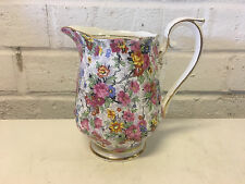 Possibly Vintage Royal Albert Porcelain Chintz Creamer Dish Floral Decoration