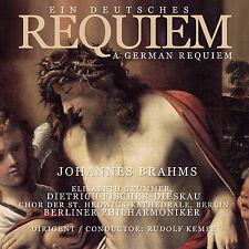 CD Ein Tedesco Requiem tedesco Requiem von Johannes Brahms Dir.Rudolf Kempe