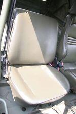VW comadreja bombardier funda del asiento asiento delantero ral 6014 el respaldo se y superficie de asiento