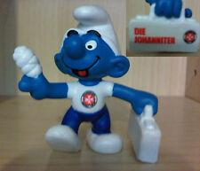 FIRST AID PROMO SMURF FROM THE SCHLEICH SMURFS DIE JOHANNITER HEALTH 20054-03