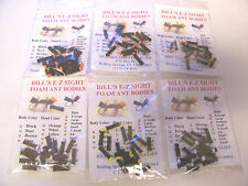 SKILTON'S QUICK SIGHT FOAM ANT BODIES FLY TYING FOAM CYLINDERS E-Z Sight Fly