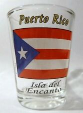 PUERTO RICO FLAG SHOT GLASS SHOTGLASS