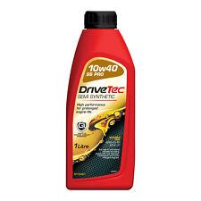 Drivetec 10W40 Engine Oil 1L 1 Litre Semi Synthetic ACEA A3/B3 API SL/CF