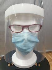 Visière de protection en PVC anti postillons anti gouttelettes plexiglass 🇧🇪