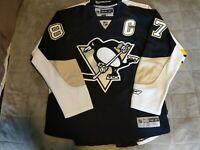 Pittsburgh Penguins Sidney Crosby Reebok Premier Mens Size XL
