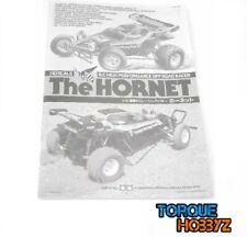 New Tamiya 1/10 Hornet Instruction / Build Manual (1050367)