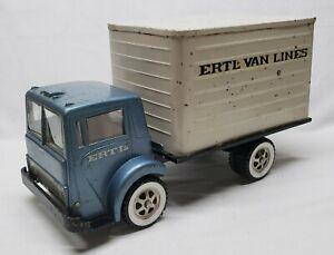 1/16 Ertl White Cab Over Truck Ertl Van Lines Box Truck Vintage Original