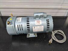 Gast Emerson 1023 V131q G608nex 34 Hp Compressor Vacuum Pump Tested