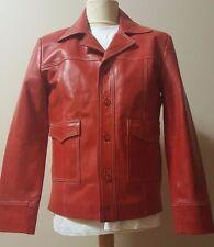 Brad Pitt Tyler Durden Fight Club Replica Red Leather Jacket Pure Napa Sheepskin