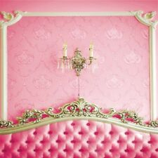 3X5Ft Photography Background Girl Pink Bed Backdrop Fr Studio Photo Prop Lovely
