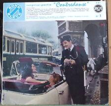 """SURPRISE PARTIE ZONE BLEUE """"CONTREDANSE"""" CAR 60's PARIS COVER FRENCH LP RCA"""
